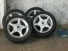 4X 16 Inch Mini Alloy With 4 Good Tyres 195 55 16
