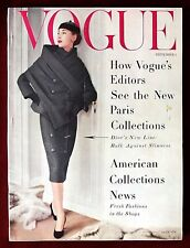 Vogue Magazine ~ September 1, 1955 ~ Henry Clarke Anne St Marie Horst Penn