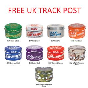Dax hair wax all types full range -Fast & Free UK Shipping!!!!