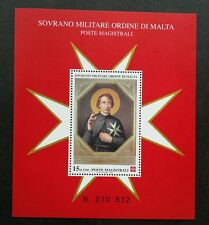 Malta Sovereign Military Order Of Malta 1999 (miniature sheet) MNH