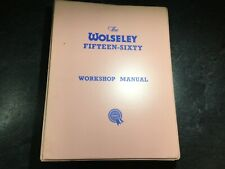 1958-71 Wolseley 15/60 & 16/60 Workshop Manual Akd1018A Fifteen-Sixty Sixteen 60