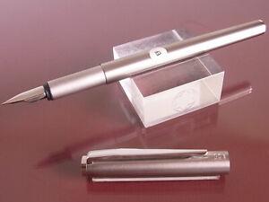 1970s Montblanc Noblesse Fountain Pen Steel EF Nib Prompt Decision