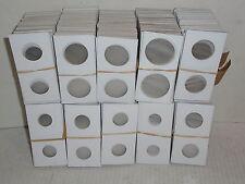 1000 Cowens Cardboard Mylar Staple Type 2x2 Coin Holder Flips -7 Different Sizes
