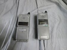 LOT OF 2 Cell Vintage Motorola Piper Cellphone and Digital Personal Communicator