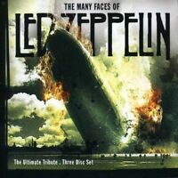 MANY FACES OF LED ZEPPELIN - ULTIMATE TRIBUTE - 3 CD NEW