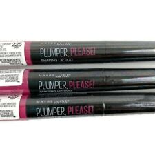 New Lot Of 3 Maybelline Plumper Please Shaping Lip Duo Cheeky 225 Gloss Liner