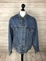 LEVI'S LEVI Denim Jacket - XL - Faded Navy Wash - Great Condition - Men's