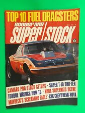 RODDER AND SUPER/STOCK Magazine-MAY 1971-454 CHEVY PRO STOCK TRICK TIPS