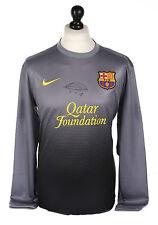 Victor Valdes Signed Barcelona GK Shirt Autograph Barca Jersey Memorabilia + COA