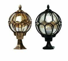 Outdoor Pillar Light Lamp Post Lighting Waterproof Aluminum Led Bulbs Plated