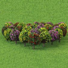 30pcs Beautiful Flower Tree Model Train Railway Park Architecture Scenery HO OO