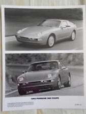 Porsche 968 Coupé Folleto de Foto de prensa 1992 v2 del mercado de EE. UU.