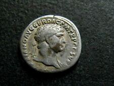 ROMAINE/ TRAJAN 98-117. DENIER. R/ DACE DANS L'ATTITUDE DE TRISTESSE. 104 ROME.