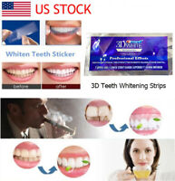 CREST 3D White with LIGHT Whitening Kit Whitestrips Teeth Whitening Strips NEW