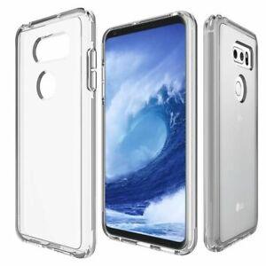 Etui Housse Coque Silicone TPU Transparent Souple pour LG V30 / G6 / G5