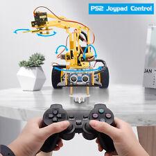 Keyestudio 2wd Coding Smart Car Robotics Robot Arm Starter Kit For Arduino Set