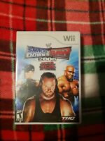 WWE SmackDown vs. Raw 2008 Featuring ECW WII CLEAN TESTED AND WORKING