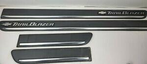 02 03 04 05 Chevrolet Trailblazer outer door trim molding strip COMPLETE SET OEM