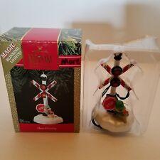 1990 Deer Crossing Magic Blinking Light-up Hallmark Keepsake Ornament