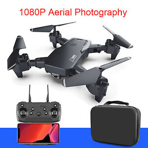 1080P/4K RC Drone 4-Axis Aircraft Foldable Quadcopter WiFi FPV HD Video Camera