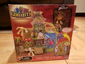 Gormiti Forest Pop-up Playset Extremely Rare Brand New