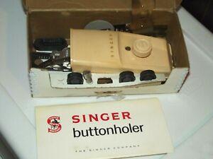 Singer Buttonhole Attachment #489510 1960 vintage