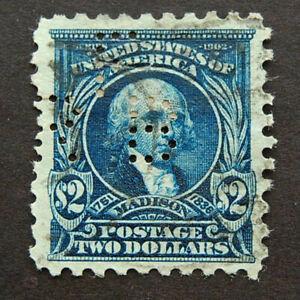 1917, US Scott 479, $2, Dark Blue, Madison *RELISTED*