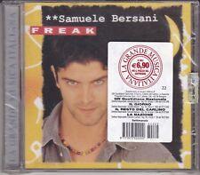 CD ♫ Audio «SAMUELE BERSANI ~ FREAK» nuovo