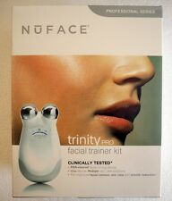 SEALED WHITE NUFACE TRINITY PRO Facial Toning Device Professional Series 400mAmp