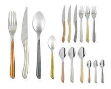 Amefa Eclat Metallics 24 Piece 6 Person Cutlery Set Purple Green Blue & Pink