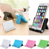 Universal Foldable Desktop Holder Table Stand Cradle Mount For Cell Phone^T Z0
