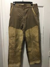 Vintage Wood And Stream Tapatco Hunting Pants Mens Used 32x26 Leather Front