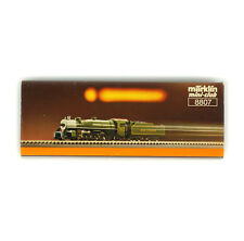 MARKLIN MINI-CLUB 8807 Z GAUGE Mikado 2-8-2 Steam Locomotive Southern RR
