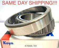 NEW KOYO SET 411 Rear Inner Bearing Set 47686/47620 /SAME DAY SHIPPING !!!