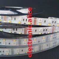 5M Double Row RGBW 5050 RGB + 2835 White LED flex RGBW 600 LED Strip Lights