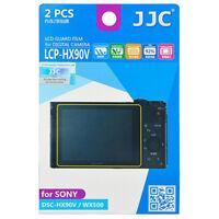 2x Film Protection Ecran LCD Dureté H3 pour Appareil Photo Sony DSC-HX90V WX500