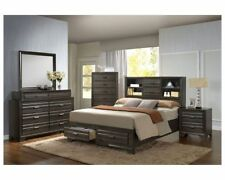 Storage Bed Frame Platform King, Queen, or Full Size Bedroom Set Furniture