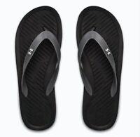 Under Armour Atlanticdune MEN'S Atlantic Dune Flip Flop Sandals, 1252506-004 NEW