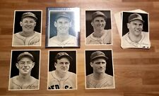 AUTHENTIC 1946  RED SOX TEAM ISSUE PHOTO SETCOMPLETE SET - NICE TED WILLIAMS