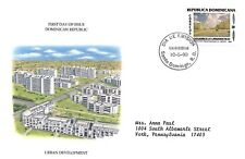 DOMINICAN REPUBLIC 1990 FIRST DAY COVER, URBAN RENEWAL