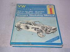 Volkswagen Polo and Derby 1976-82 Owner's Workshop Manual (Haynes)