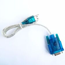 USB 2.0 to Serial RS232 DB9 9 Pin Male Adapter COM Port Converter Cable Win7 D31