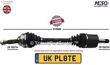 DRIVE SHAFT AXLE FITS FOR NISSAN X-TRAIL T31 2.0 dCi 2007-2013 LEFT HAND SIDE