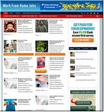 Work From Home Jobs business Automated Website autopilot amazon store For Sale