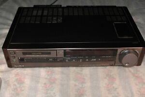 Vintage Sony Video Hi8 Video Cassette Recorder EV-S900 NTSC HiFi Editing VCR