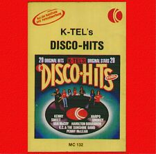 "COMPILATION "" K-TEL'S DISCO HITS "" MUSICASSETTA  NUOVA   K7  RARO"