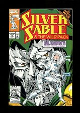 SILVER SABLE & THE WILD PACK 4 (9.6) INFINITY WAR CROSSOVER MARVEL (B058)