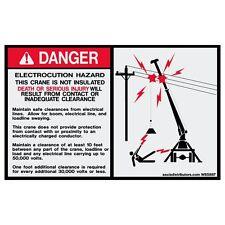 "Electrocution Hazard 5"" x 8"" 2-Pack *NEW*"