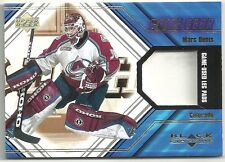 Marc Denis 2000-01 Black Diamond Game Gear Colorado Avalanche Game Used Leg Pad