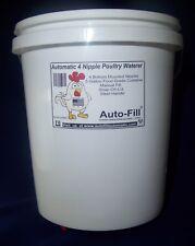 Automatic Chicken Waterer - BACKYARD    HANGING         4 Nipple 5 Gal Bucket -